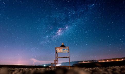 ペルセウス座流星群の方角や場所についての参考画像