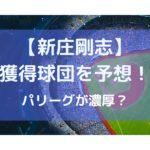 新庄剛志の獲得球団を予想の参考画像